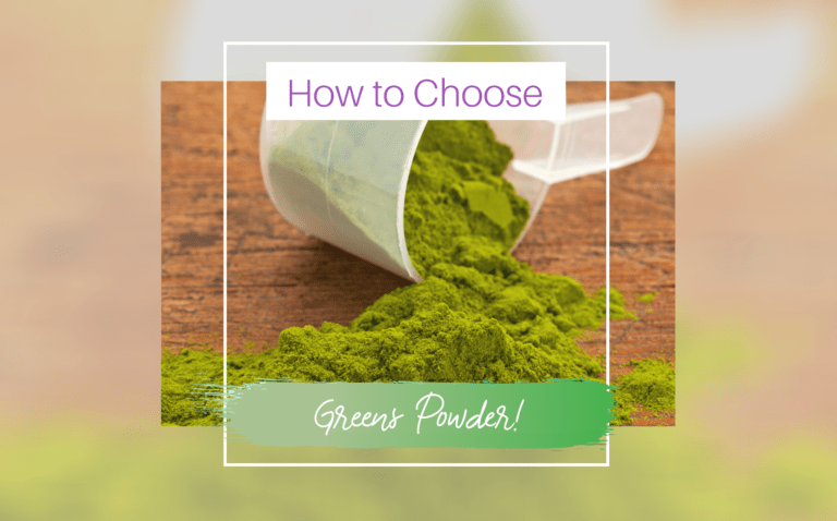 How to choose greens powder