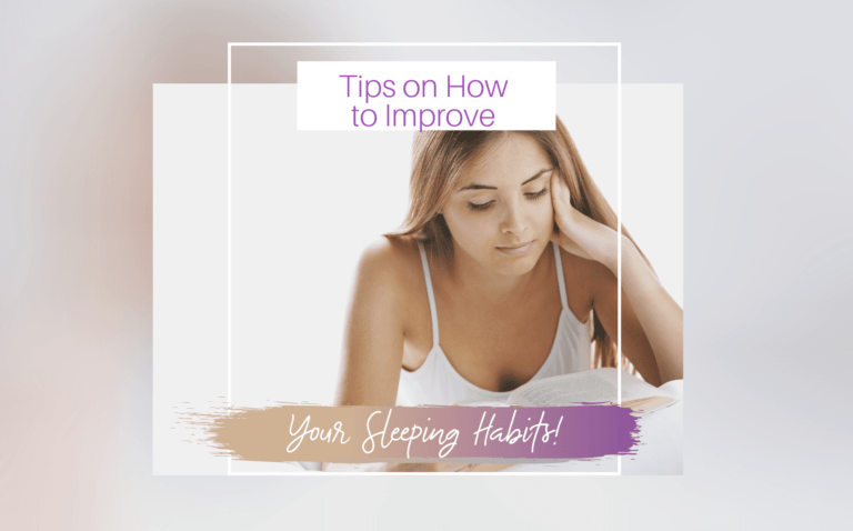 How to Improve Your Sleeping Habits